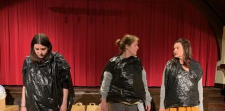 Dark Horse Theatre Company's 'The Value of Moscow' plays through May 4. Photo courtesy of Dark Horse Theatre Company.