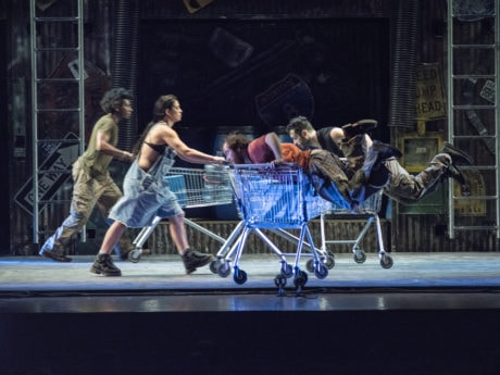 STOMP, created by Luke Cresswell and Steve McNicholas. Photo by Steve McNicholas.