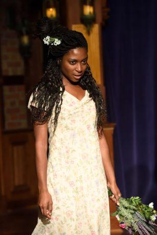 Rachel Manu as Ophelia. Photo by Will Kirk.