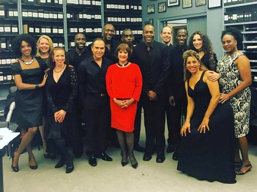 Members of Broadway Inspirational Voices at the Cathedral of St. John the Divine. Photo courtesy of BIV.