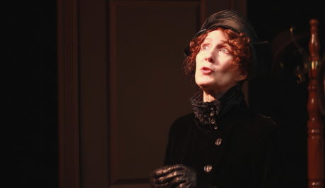 Stephanie Mumford in 'Ghost-Writer.' Photo by Clay Teunis.