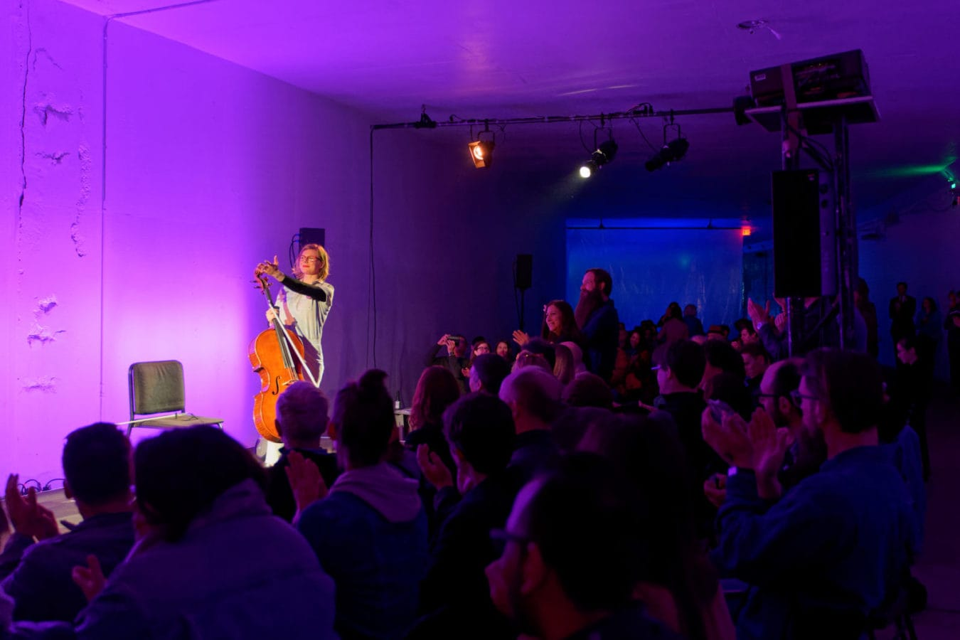 Amanda Gookin's Forward Music Project at the Direct Current Festival on March 29. Photo by Anu Dev.