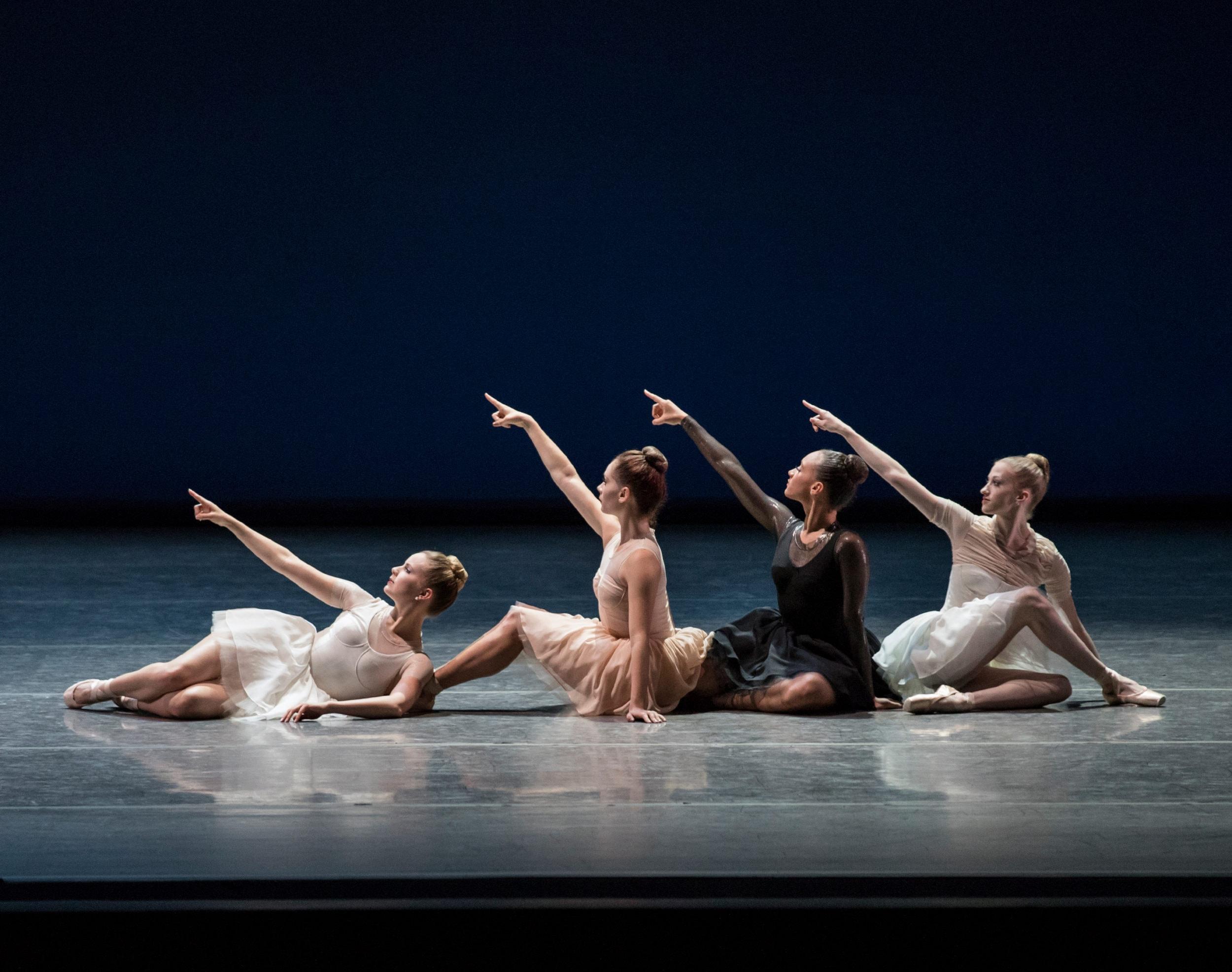 New York City Ballet in 'Composer's Holiday' by Gianna Reisen. Photo by Paul Kolnik.