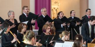 Washington Bach Consort Noontime Cantata Performance. Photo courtesy of Washington Bach Consort.