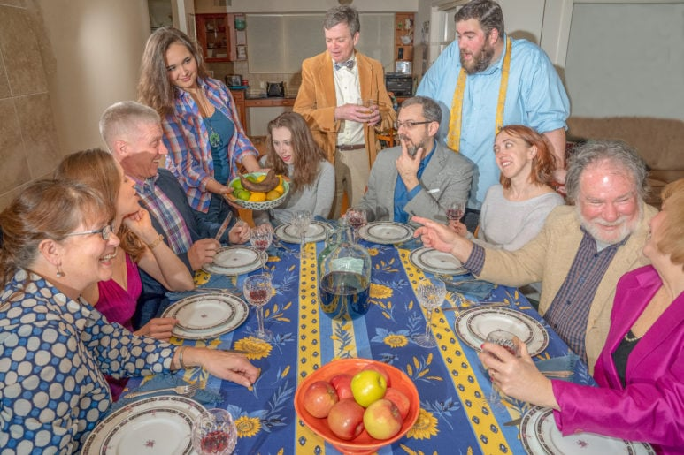 The cast of Providence Players' production of 'August: Osage County.' Photo by Rob Cuevas.