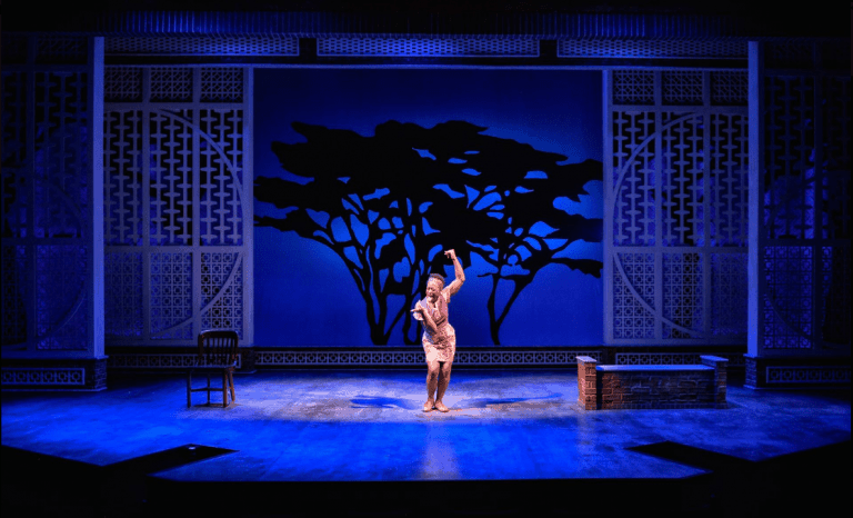 Erika Rose in Queens Girl in Africa. Photo by ClintonBPhotography.