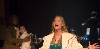 Carla Crawford as Rose in St. Mark's Players' production of 'Gypsy.' Photo by Rosalinda Dauval.