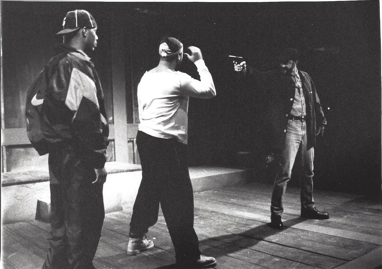 The 1997 production of 'Torn From the Headlines,' written, directed, and produced by Jennifer L. Nelson.