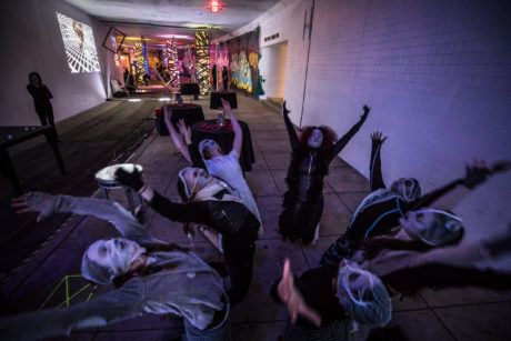 TBD Immersive's 'Under(world) performs through May 12 at Dupont Underground. Photo by Tony Hitchcock.