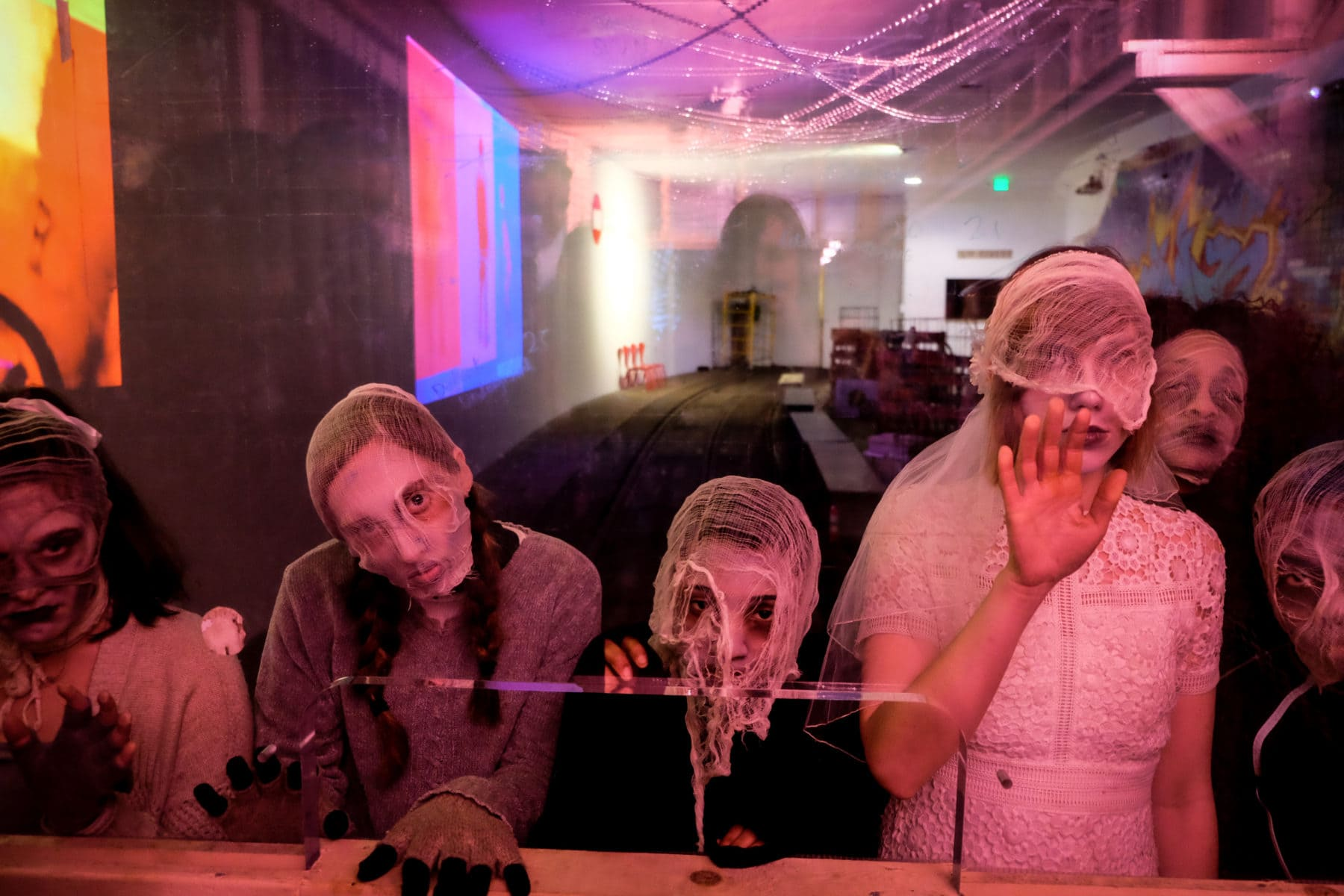 TBD Immersive's 'Under(world) performs through May 12 at Dupont Underground. Photo by Deborah Lash.