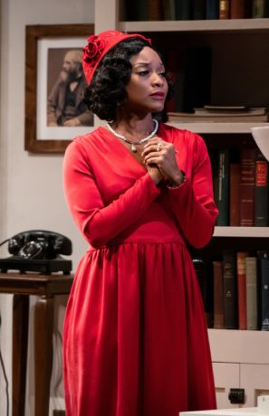 Angela Wildflower in 'My Lord, What a Night' at Contemporary American Theater Festival. Photo by Seth Freeman.