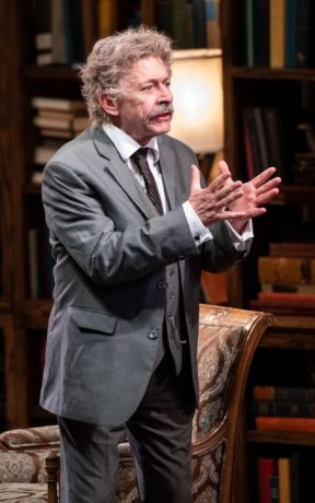 John Leonard Pielmeier in 'My Lord, What a Night' at Contemporary American Theater Festival. Photo by Seth Freeman.