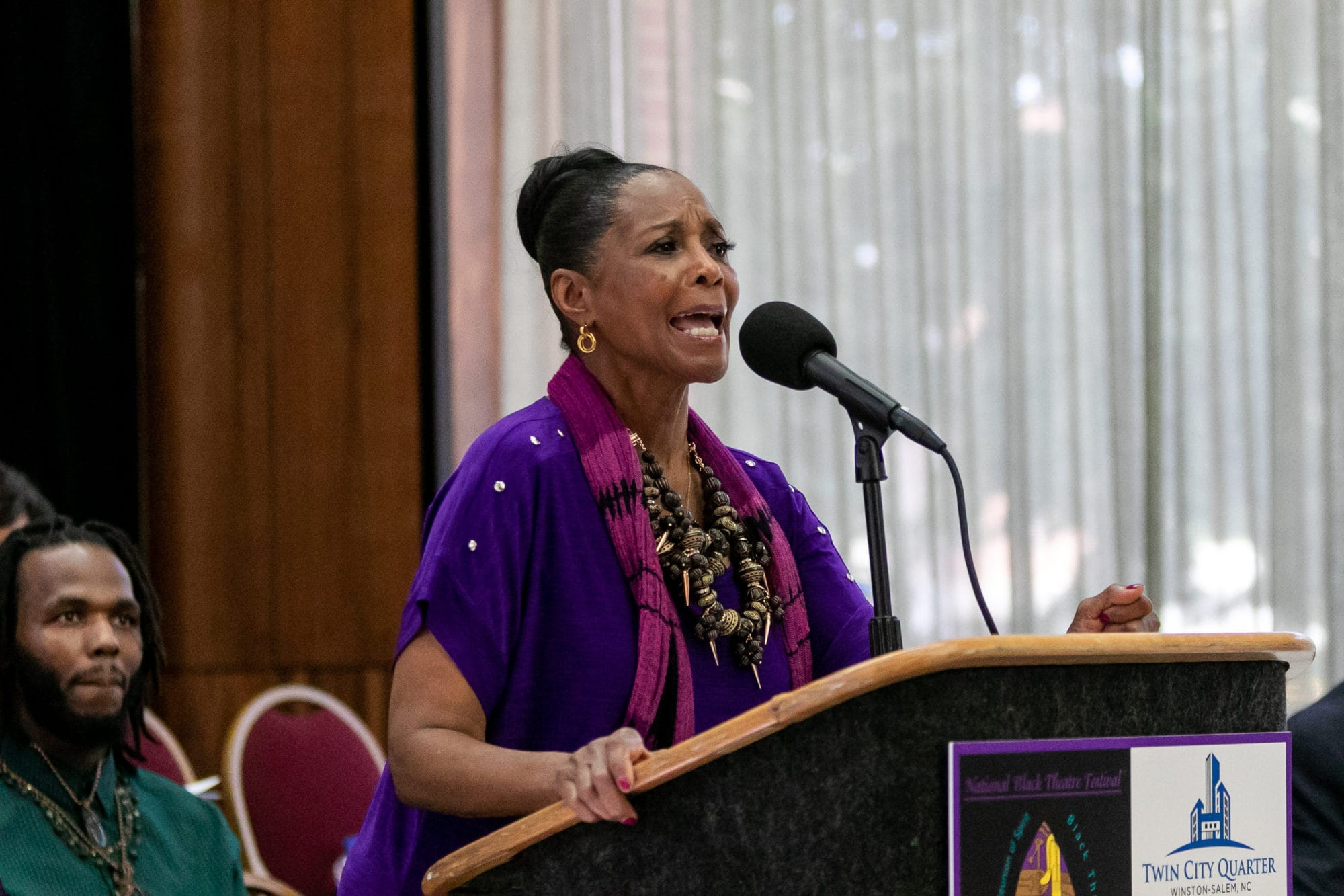 2019 National Black Theatre Festival Co-Chair Margaret Avery. Photo courtesy of the National Black Theatre Festival.