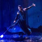 Irina Tsikurishvili as Prospera in 'The Tempest' at Synetic Theater. Photo by Johnny Shryock.