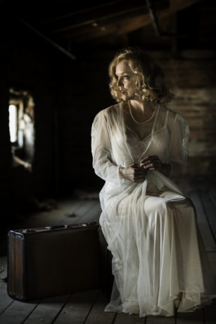 Nancy Anderson in 'The Willard Suitcases.' Photo by Lauren Rogers Parker.
