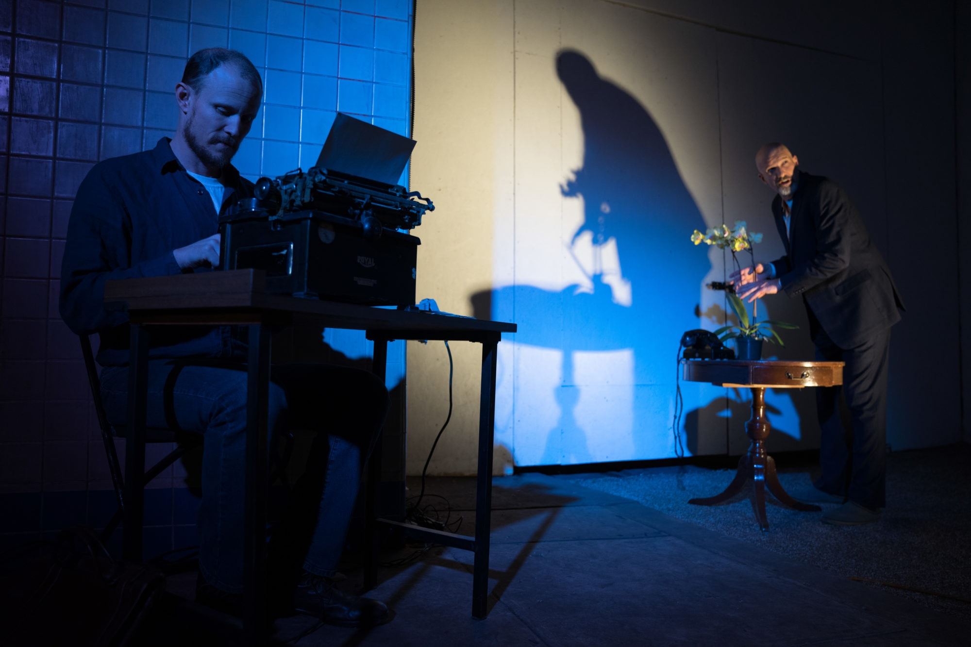Alliance for New Music-Theatre will perform Václav Havel's 'Protest' at Dupont Underground this fall. Photo courtesy of Amy Killion/Alliance for New Music-Theatre.