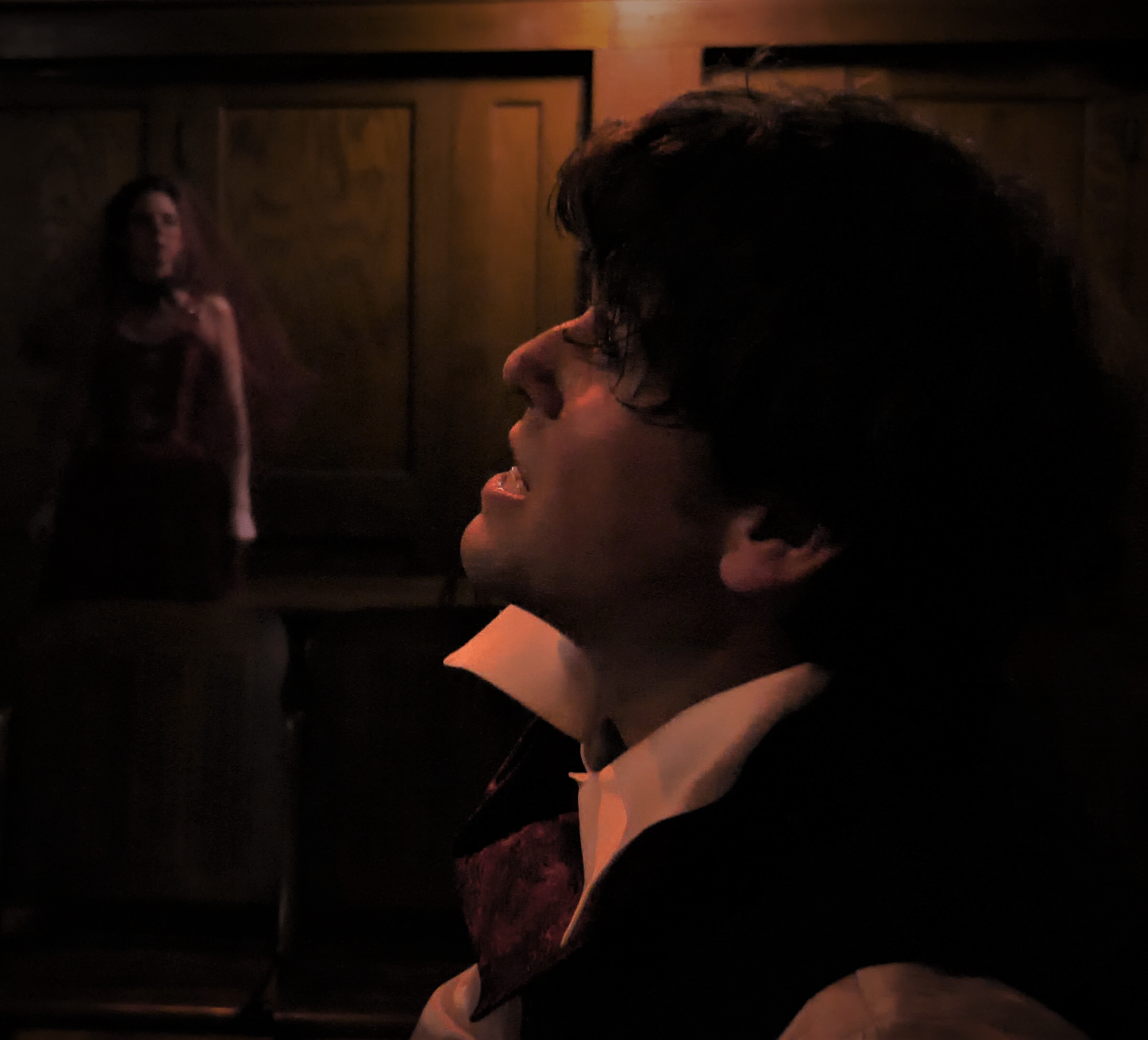 Matt Hirsh plays Jekyll and Hyde in Free Range Humans' 'Jekyll and Hyde: An Immersive Musical Experience.' Photo courtesy of Free Range Humans.