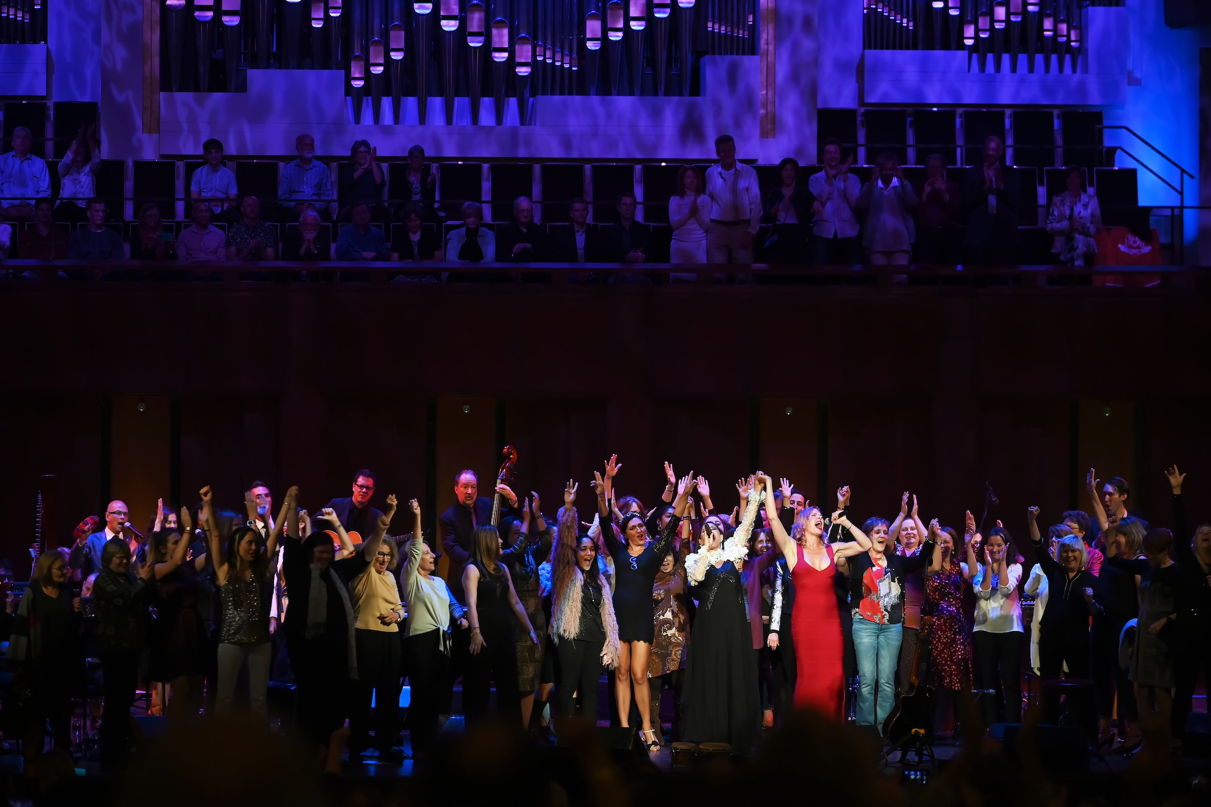 Pink Martini's 25th-anniversary celebration at The Kennedy Center kicked off Washington Performing Arts' 2019-2020 season. Photo by Shannon Finney.