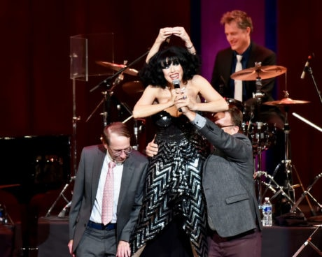 Meow Meow performs with Pink Martini at The Kennedy Center. Photo by Shannon Finney.