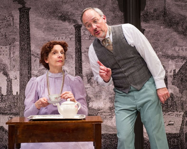 Sue Struve and Steven Carpenter in Washington Stage Guild's 'Hard Times.' Photo by C. Stanley Photography.