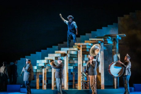 Virginia Opera presented 'Il Postino' November 16-17 at George Mason University's Center for the Arts. Photo by Ben Schill Photography.