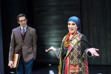Jonathan David Martin as The Man and Susan Rome as Louise Nevelson in Edward Albee's 'Occupant.' Photo by C. Stanley Photography.