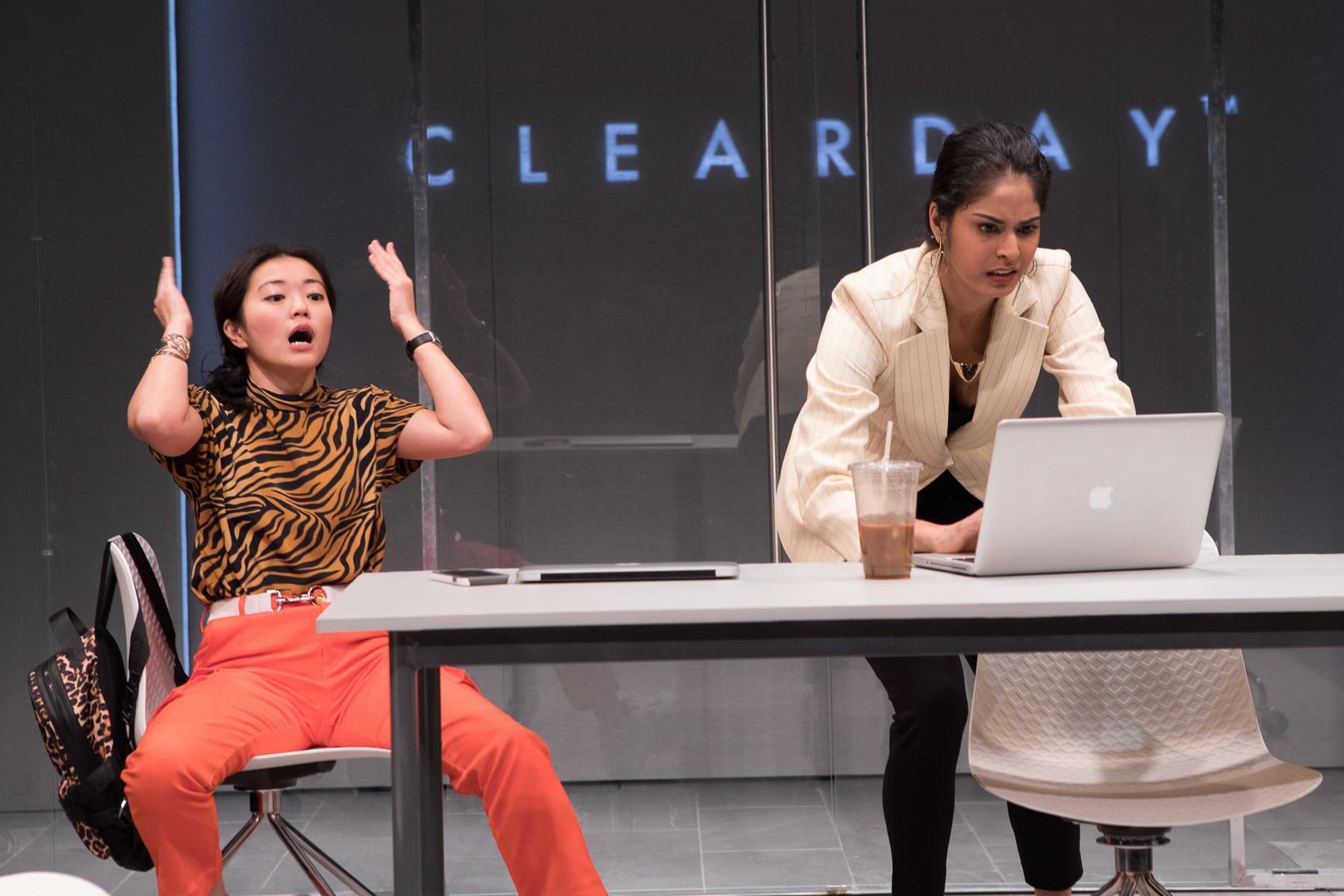 Jody Doo and Shanta Parasuraman in 'White Pearl.' Photo by Teresa Wood.