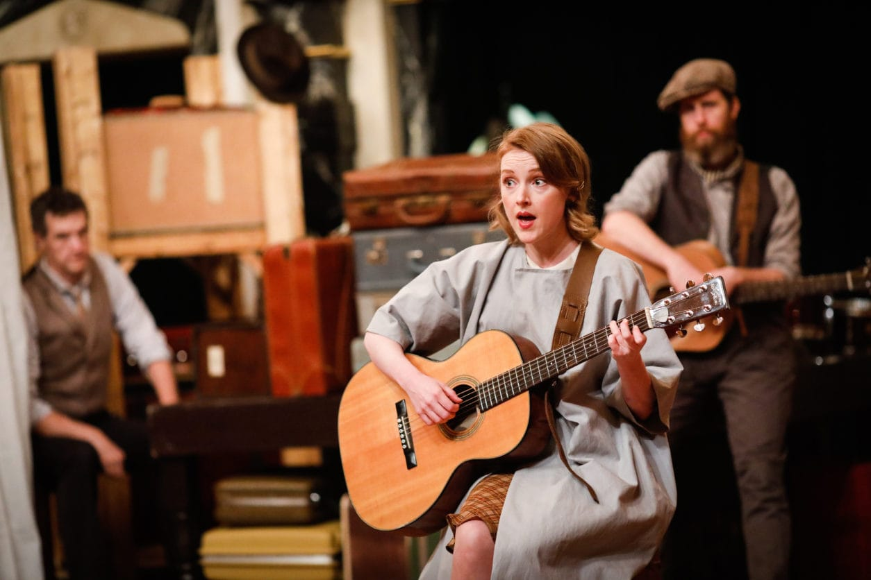 Sylvie Davidson in 'The Willard Suitcases' by Julianne Wick Davis. Directed by Ethan McSweeny. Photo by Lindsey Walters.