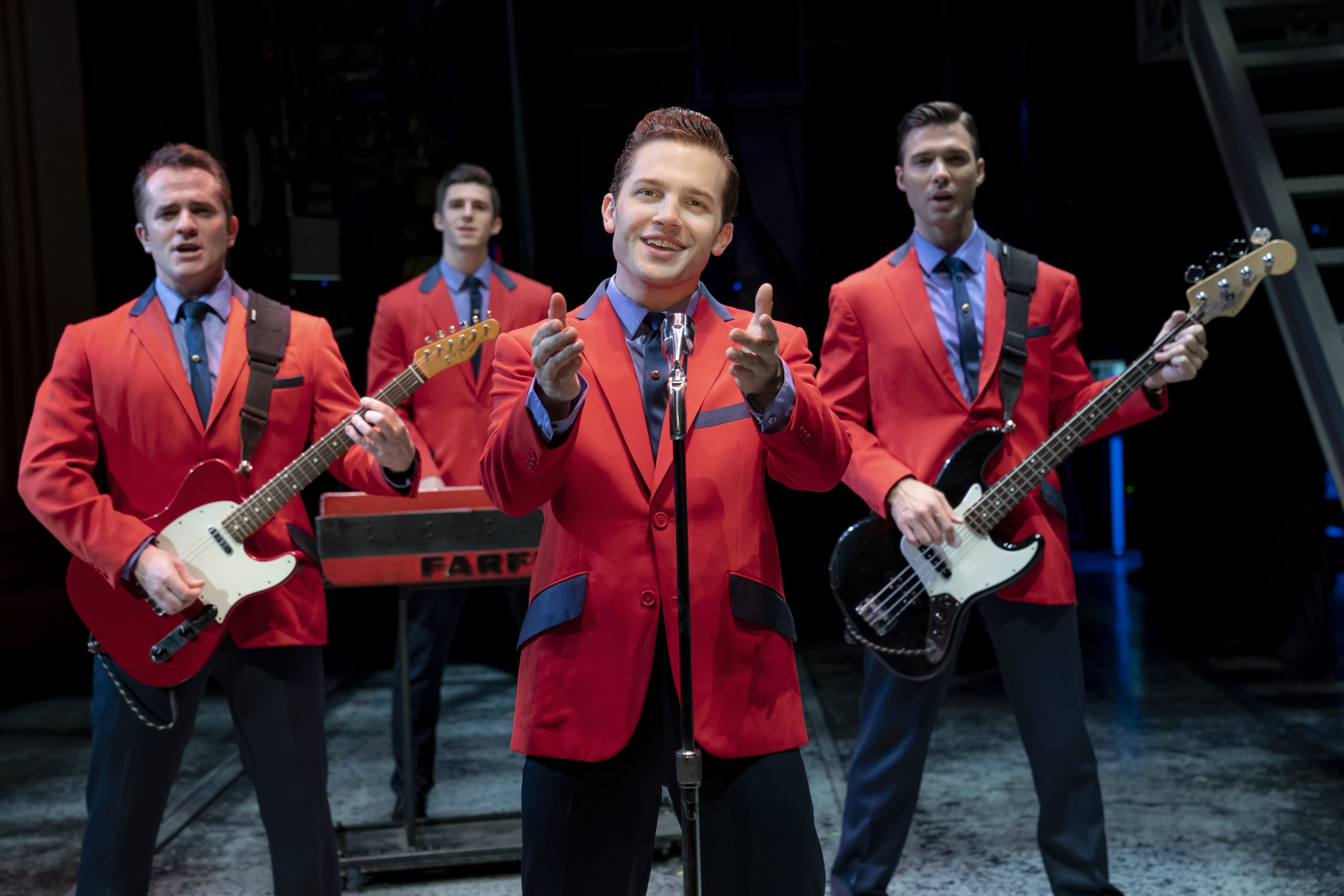 Jersey Boys' rides the highs and lows of Frankie Valli and The ...