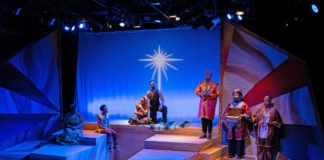 'Black Nativity' plays through January 5, 2020, at the Anacostia Playhouse. Photo by Jabari Jefferson.