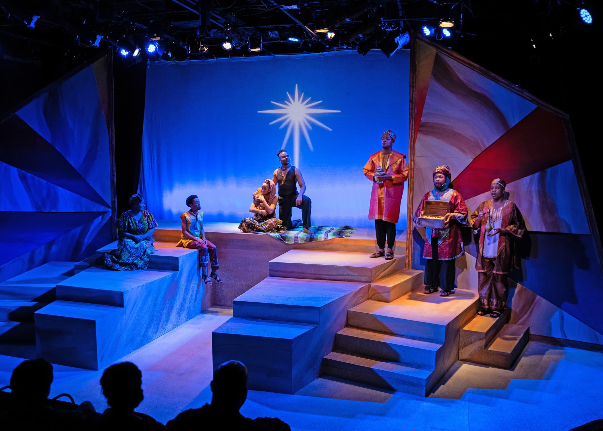 'Black Nativity' plays through January 5, 2020, at the Anacostia Playhouse. Photo by Jabari Jefferson.