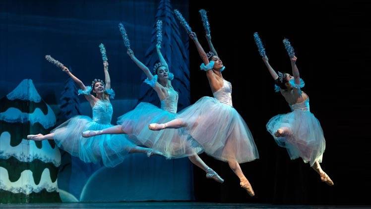 Ballet Theatre of Maryland presents 'The Nutcracker' through December 15 at Maryland Hall for the Creative Arts. Photo courtesy of Ballet Theatre of Maryland.