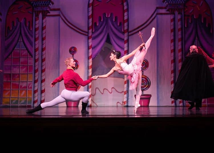 Ballet Theatre of Maryland presents 'The Nutcracker' through December 15 at Maryland Hall for the Creative Arts. Photo by Joni Salyer.