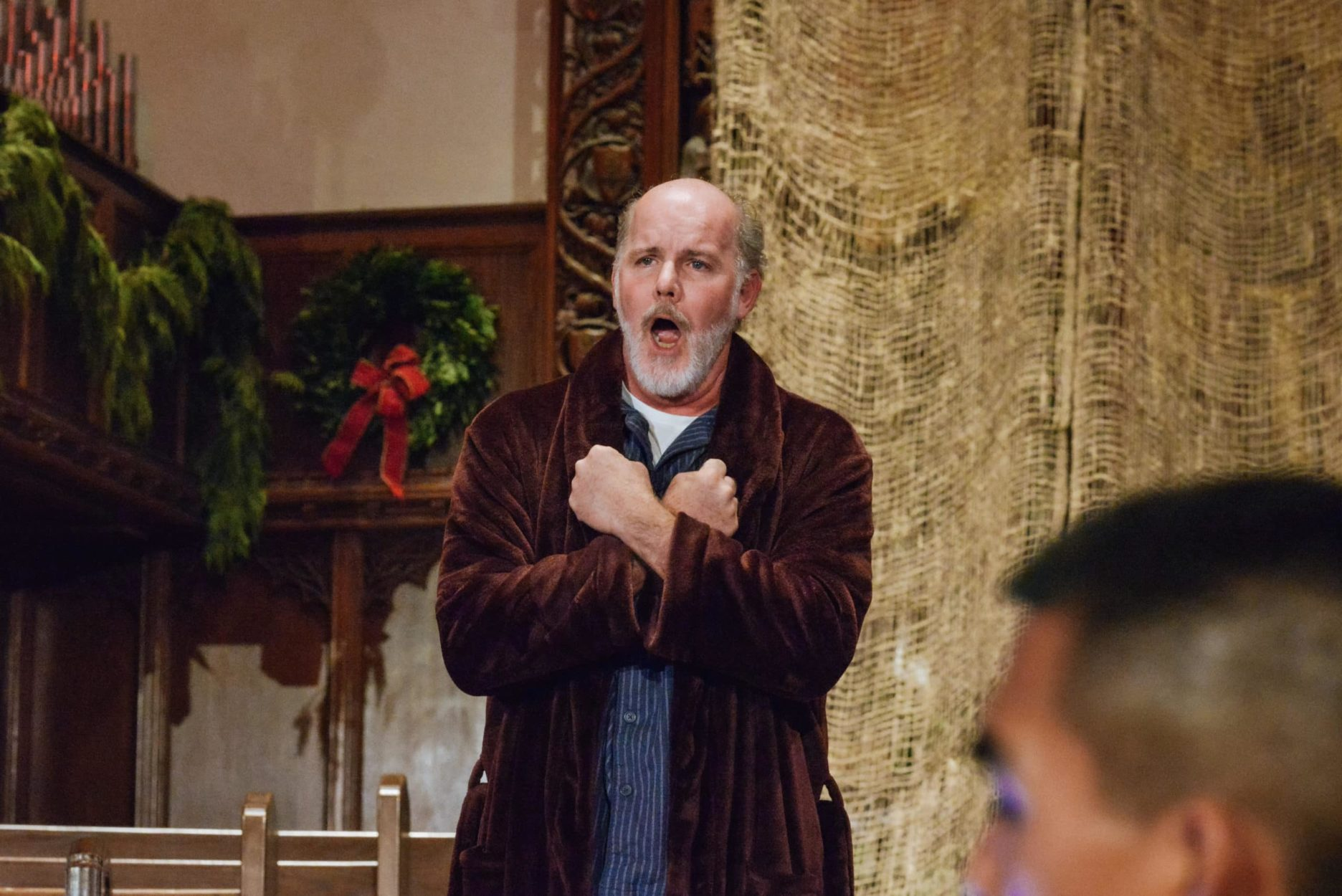 Kerry Wilkerson in 'L'enfance du Christ.' Photo by RX Loft.