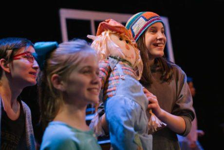 The cast of Encore Stage & Studio's 'CSI: Christmas Scene Investigators.' Photo by Cindy Kane Photography.