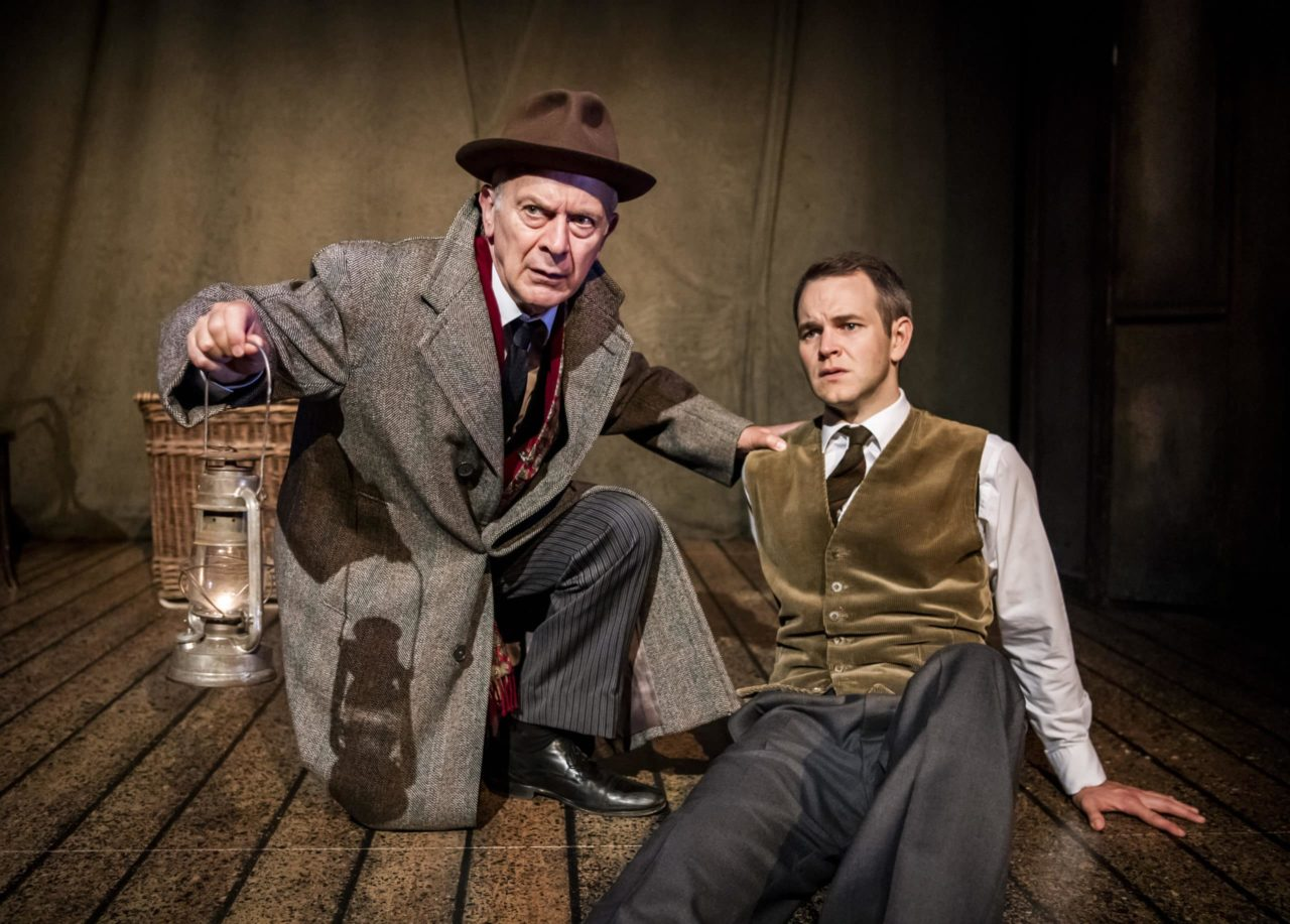 Robert Goodale and Daniel Easton in 'The Woman In Black.' ©Tristram Kenton.