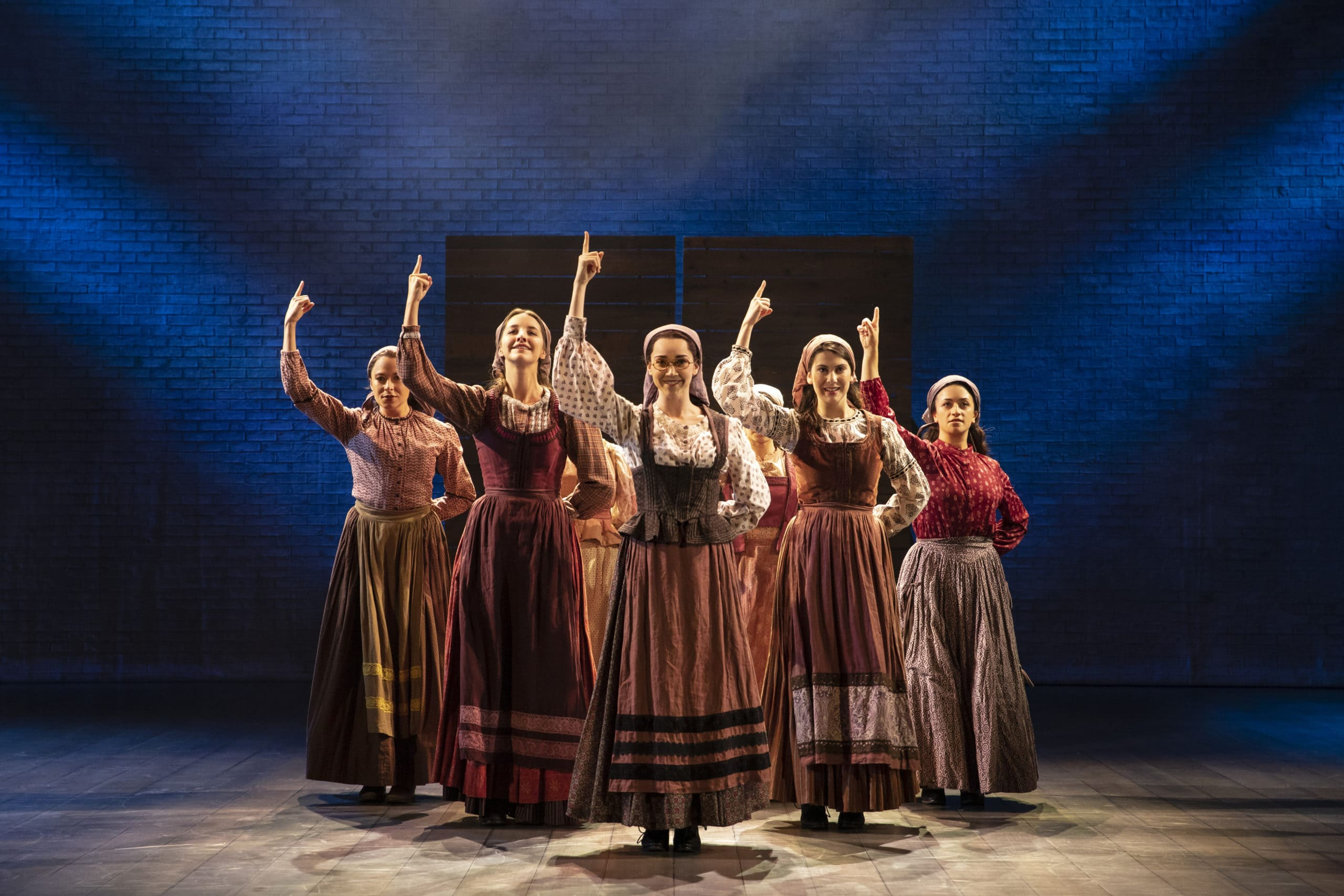 The cast of 'Fiddler on the Roof.' Photo by Joan Marcus.