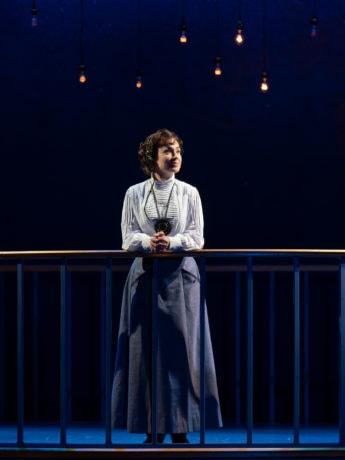 Laura C. Harris as Henrietta Leavitt in 'Silent Sky' at Ford's Theatre. Photo by Scott Suchman.
