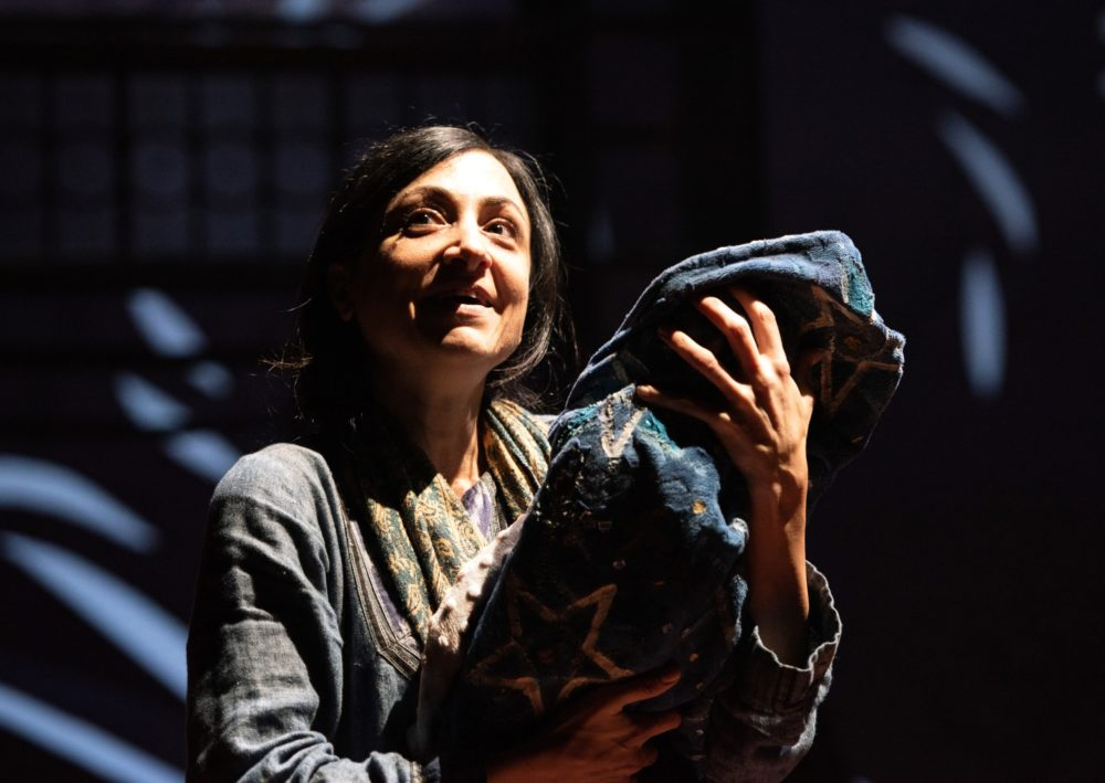 Hend Ayoub as Mariam in 'A Thousand Splendid Suns' at Arena Stage. Photo by Margot Schulman.