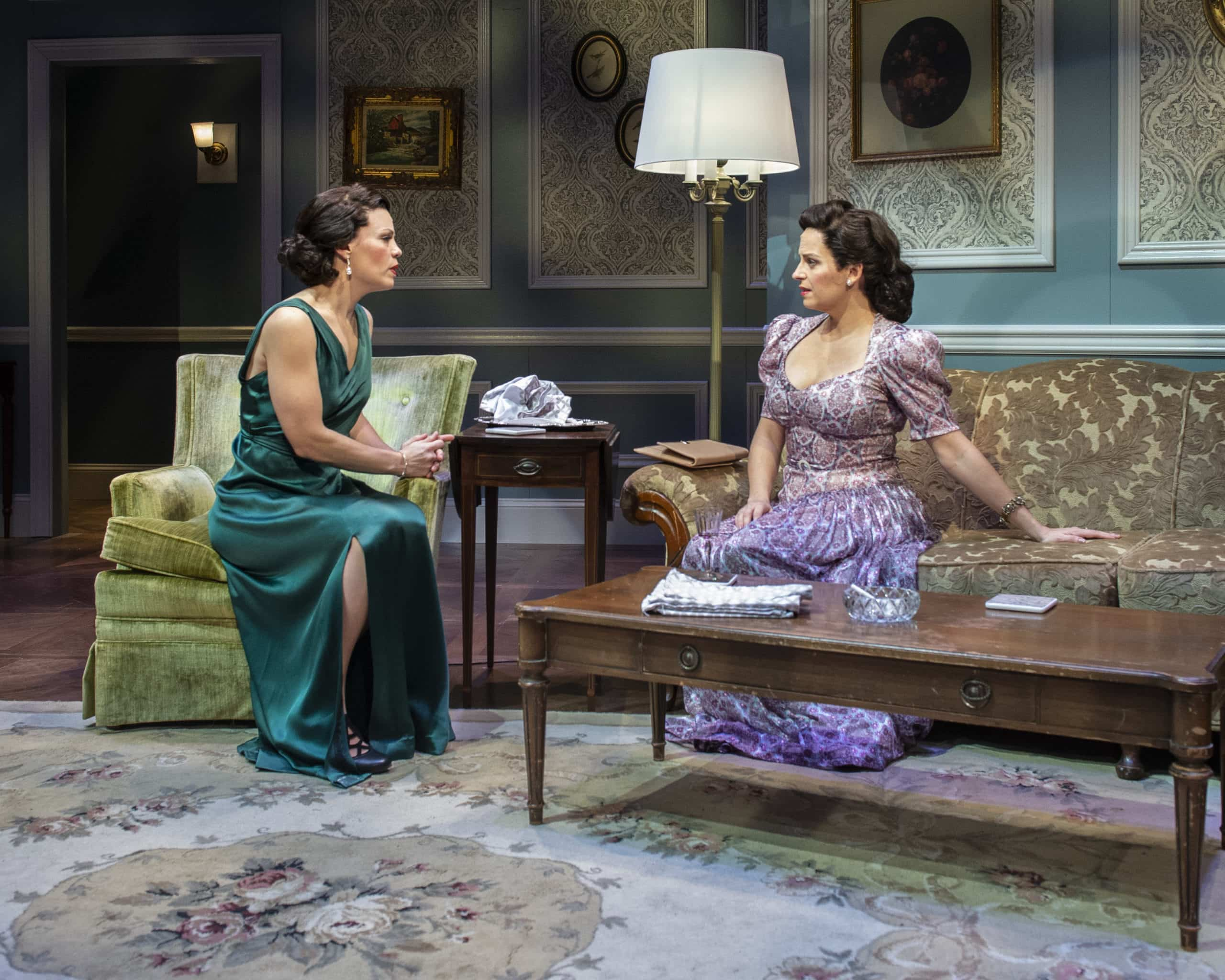 Erin Weaver and Kimberly Gilbert in 'Sheltered' at Theater J. Photo by Teresa Castracane.