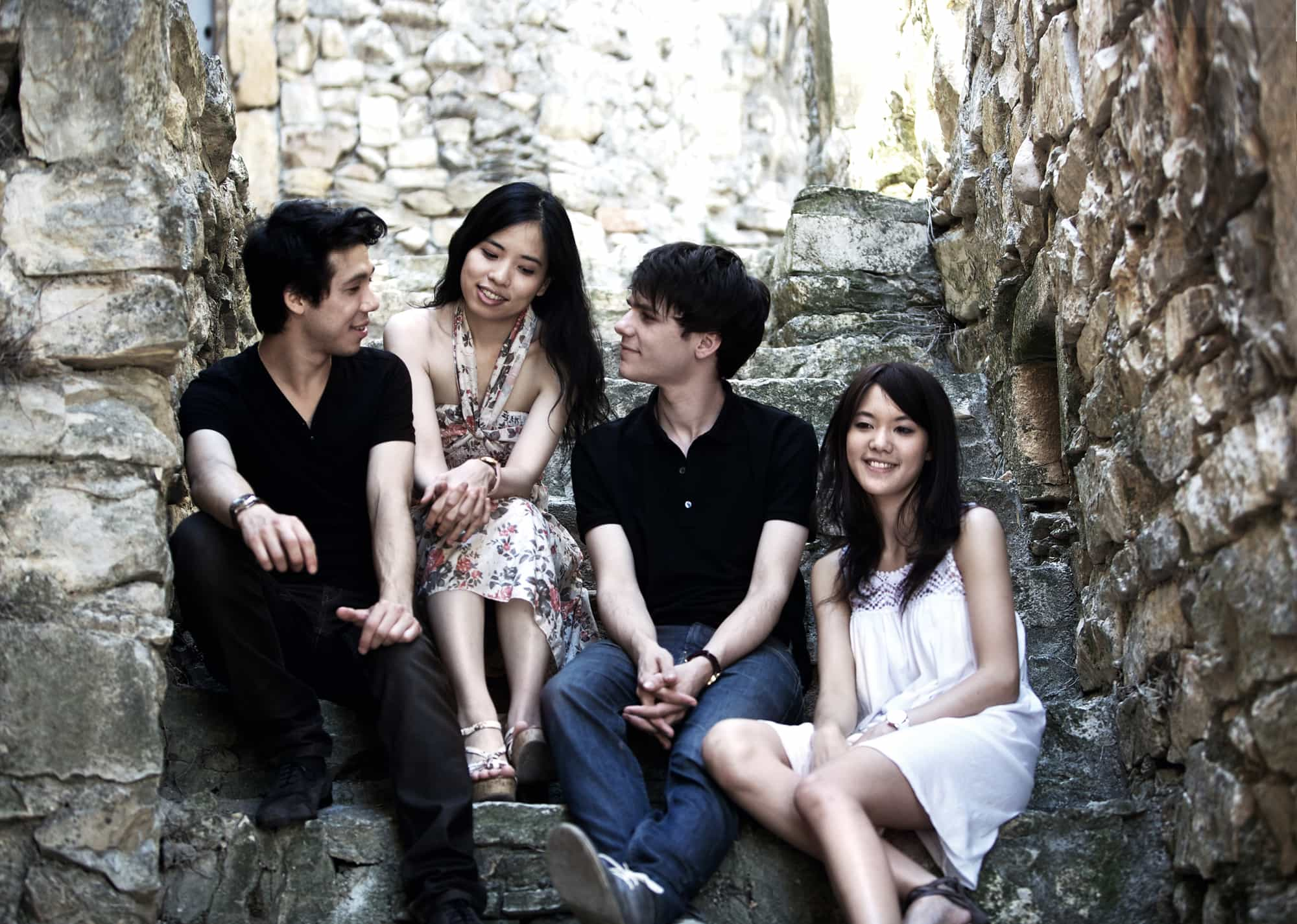 The Hermès Quartet. Photo by Jean-Claude Capt.