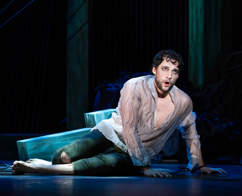 Tenor Jean-Michel Richer in rehearsal of Opera Lafayette's production of Beethoven's 'Leonore.' Photo courtesy of Opera Lafayette.