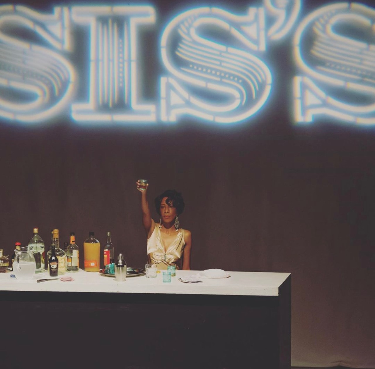Tai Alexander as Sis Walls in 'Welcome to Sis's' by Ally Theatre Company. Photo by Angelisa Gillyard.