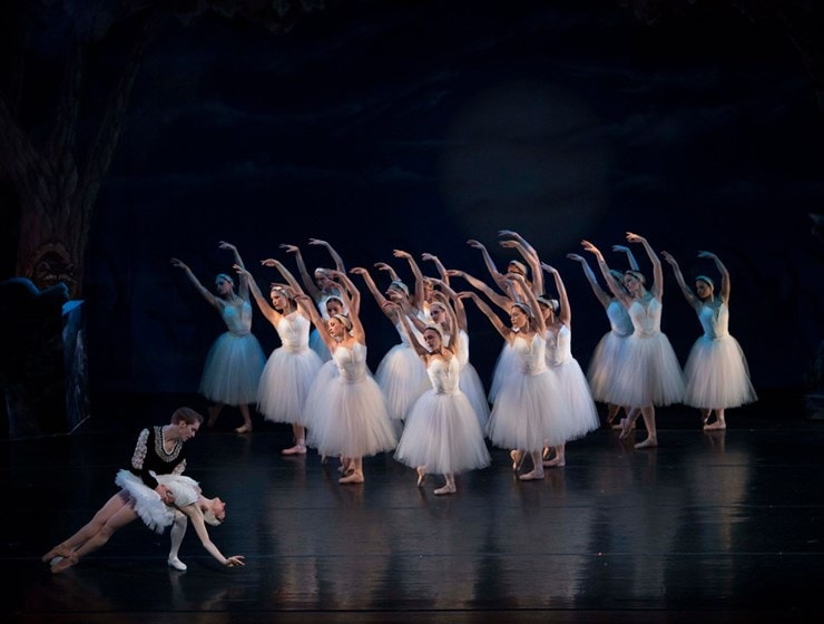 Ballet Theatre of Maryland's 'Swan Lake.' Photo by Nick Eckert.