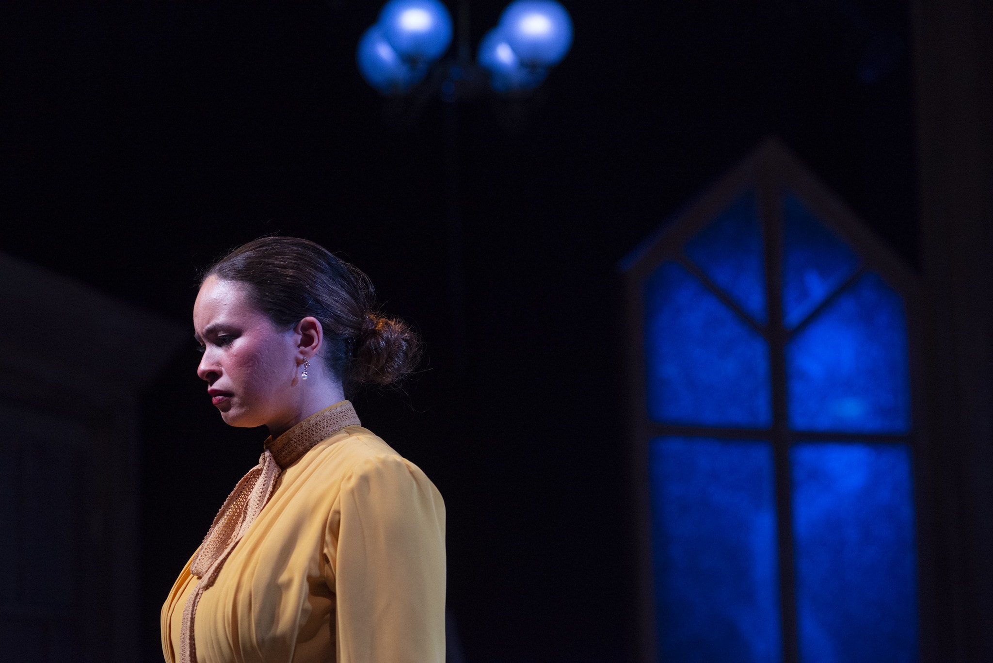 Des'ree Brown as Nora in 'A Doll House' at the University of Maryland School of Theatre, Dance, and Performance Studies at the Clarice Smith Performing Arts Center. Photo by David Andrews.