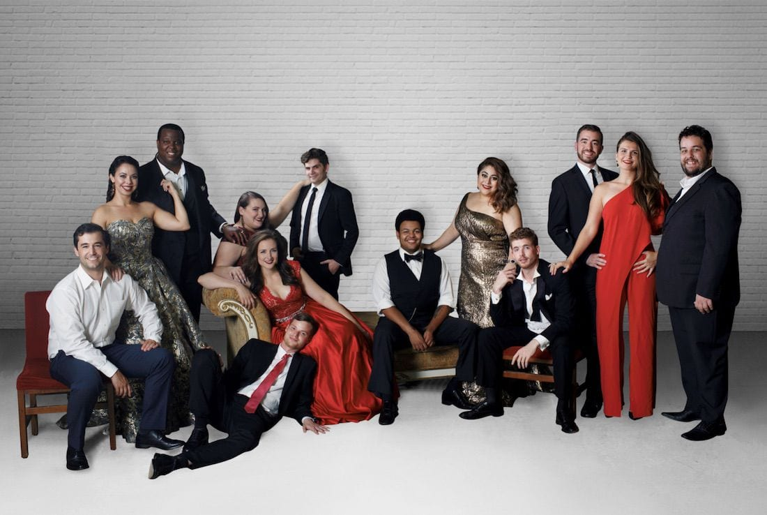 Washington National Opera's Cafritz Young Artists. Photo by Arielle Doneson.