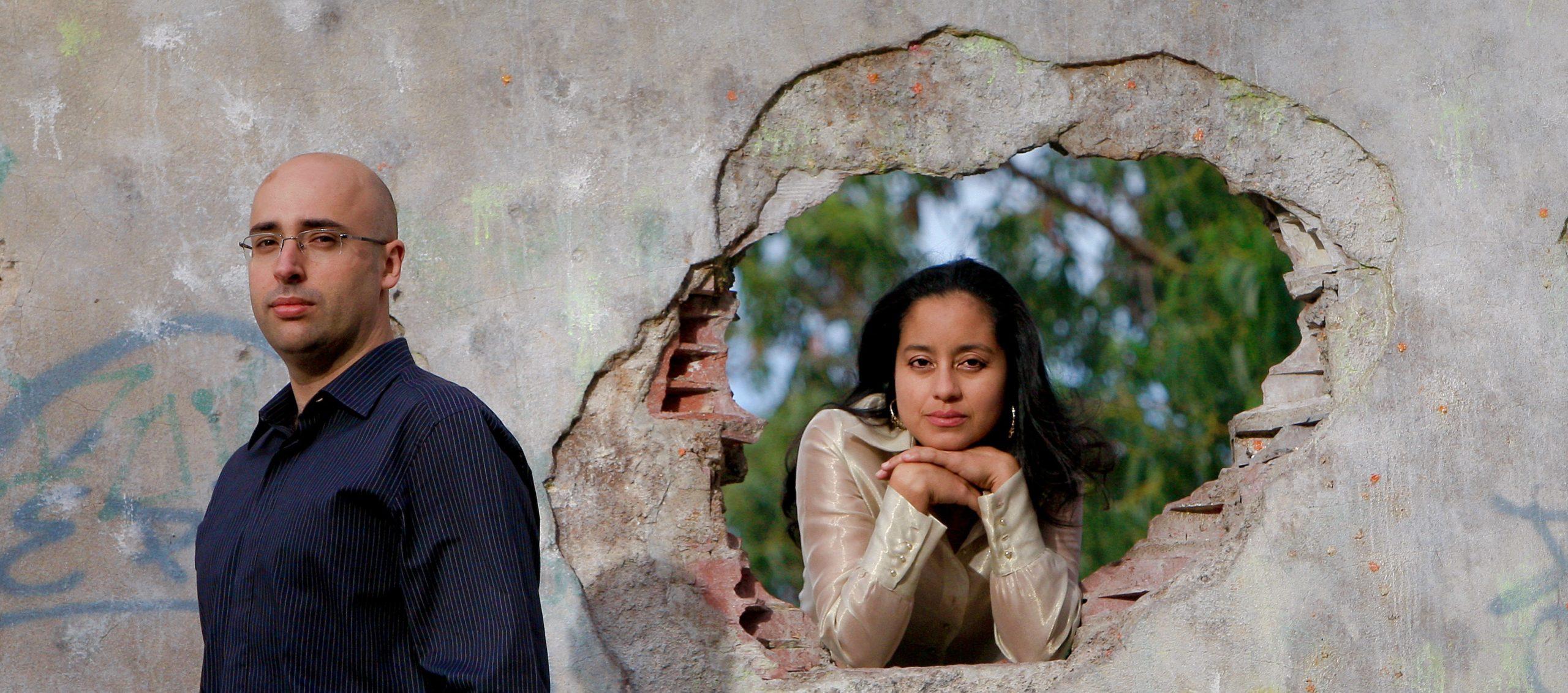 Pianists Filipe Pinto-Ribeiro and Rosa Maria Barrantes. Photo by Leonel de Castro.