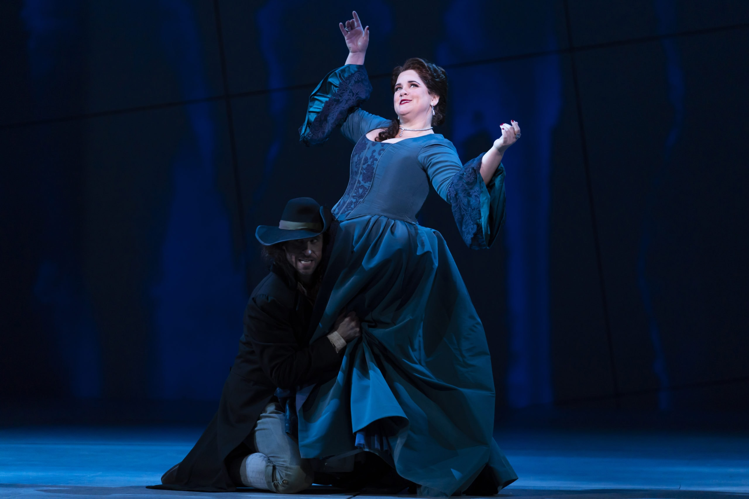 Keri Alkema as Donna Elvira in Washington National Opera's 'Don Giovanni.' Photo by Scott Suchman.