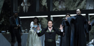 Ryan McKinny in the title role in Washington National Opera's 'Don Giovanni.' Photo by Scott Suchman.
