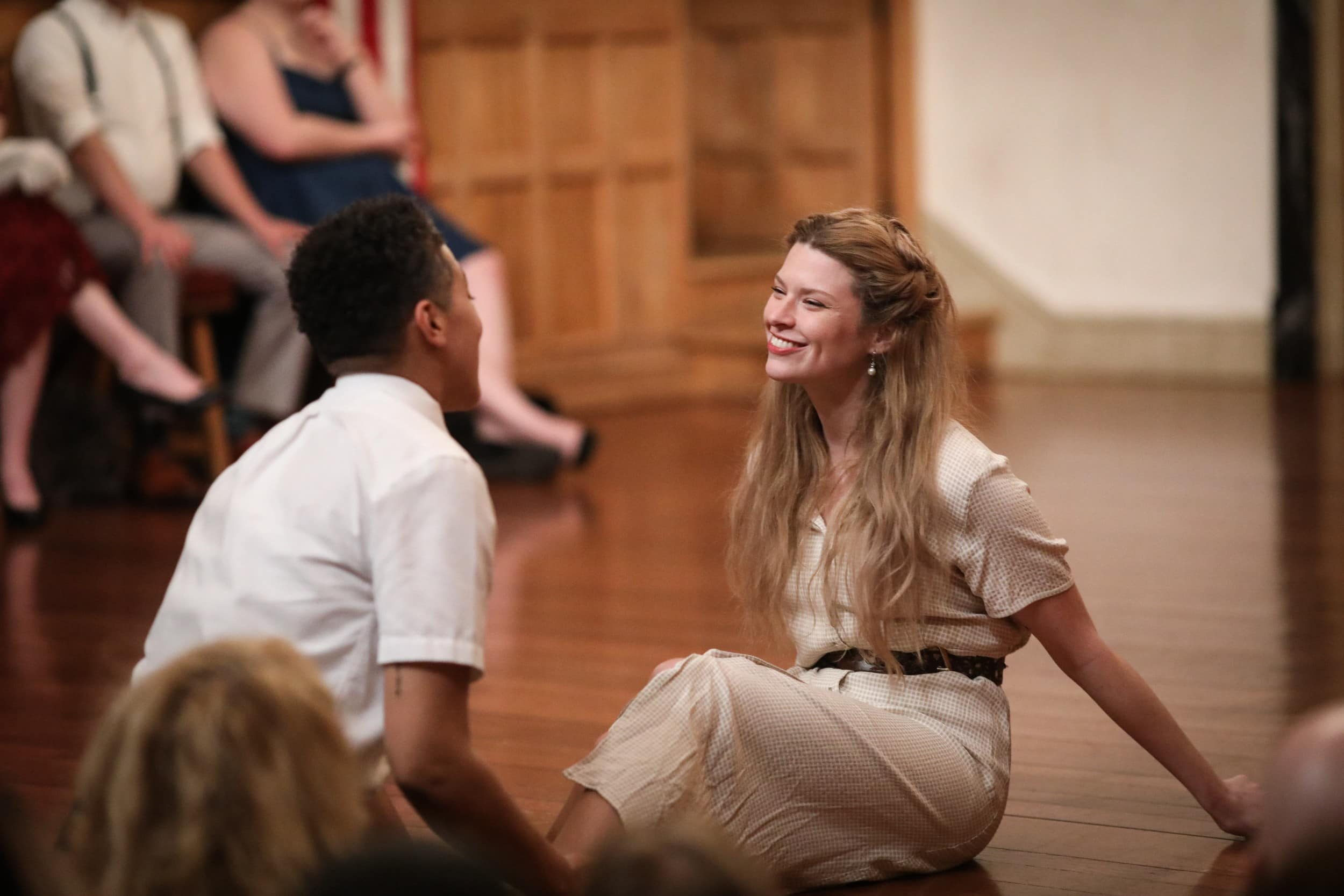Jessika Williams and Meg Rodgers in 'Much Ado About Nothing.' Photo by Lindsey Walters.
